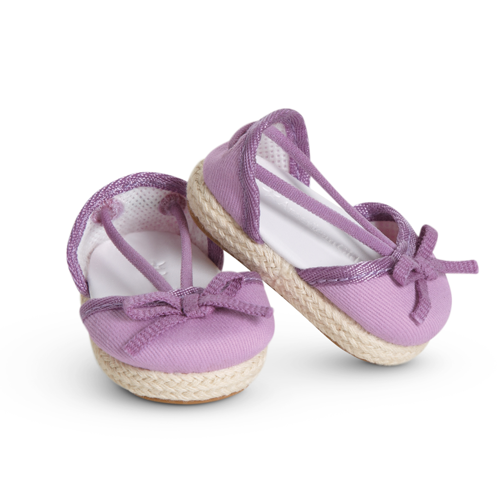 Purple Espadrilles