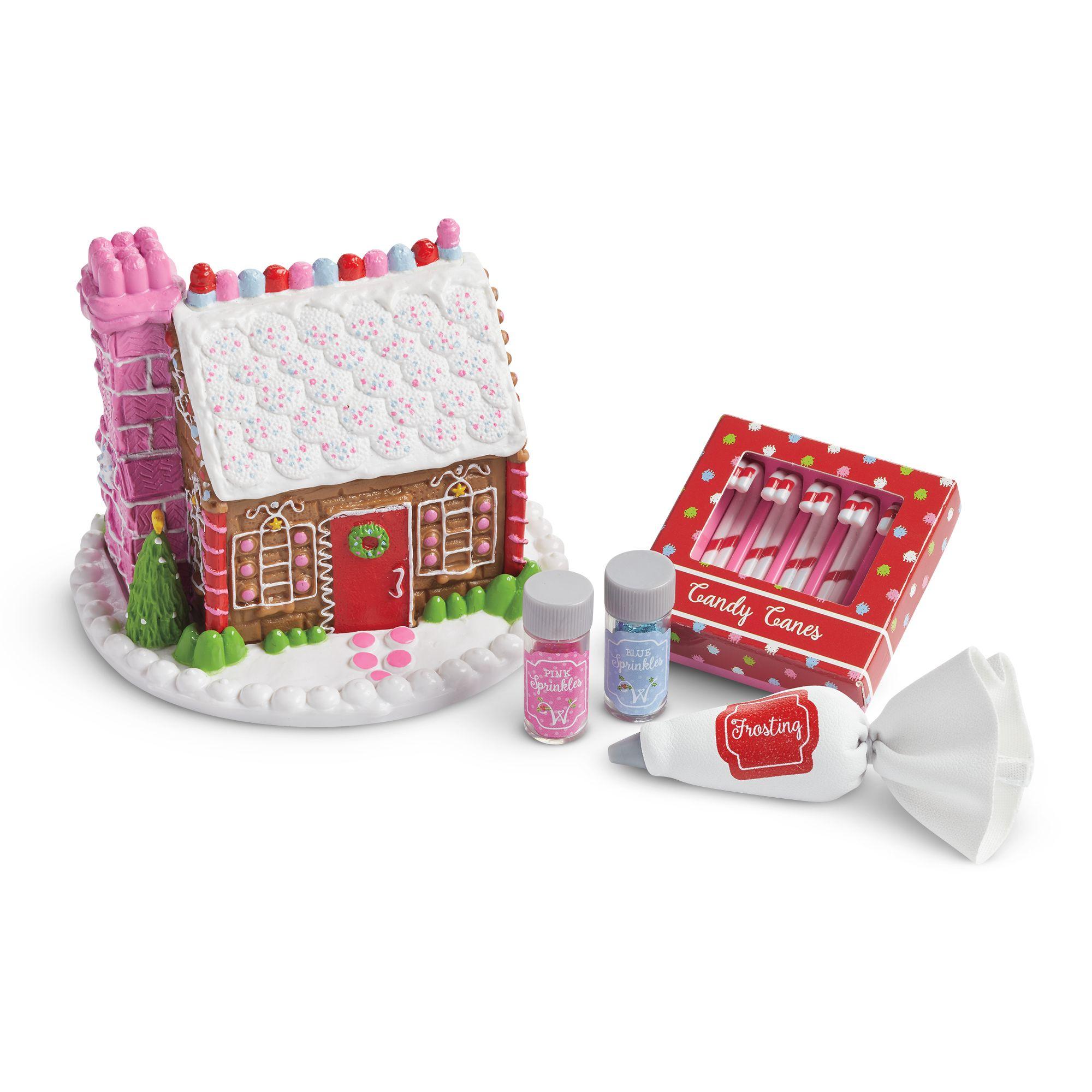 Festive Gingerbread House Set