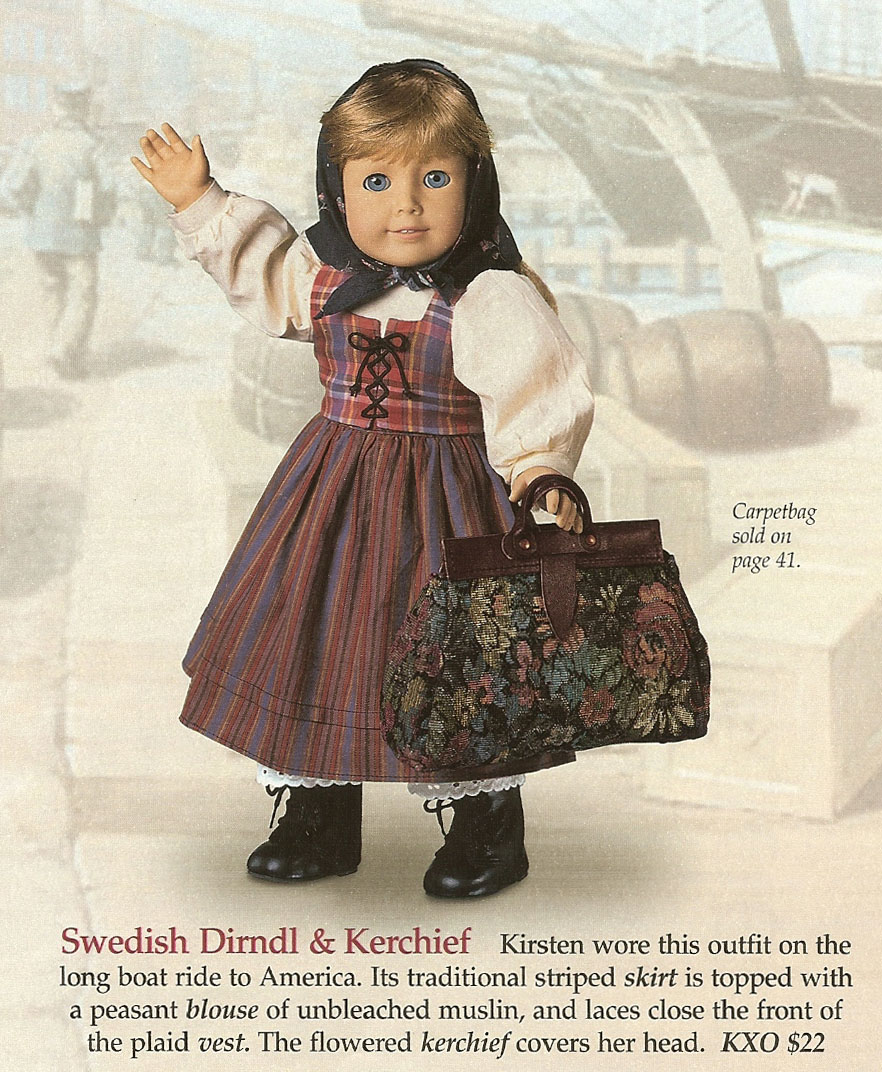 Swedish Dirndl and Kerchief