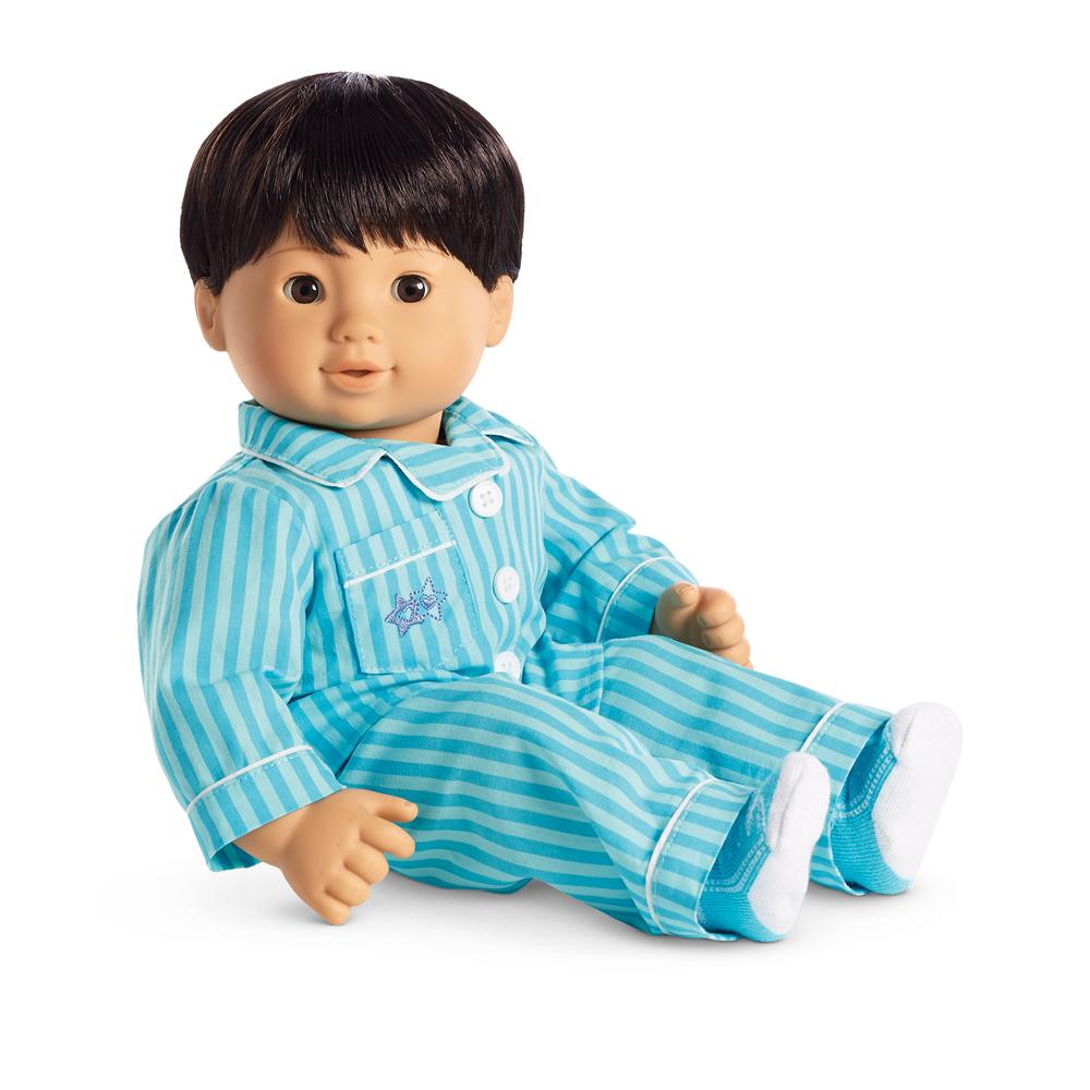 Pinstripe Pajamas