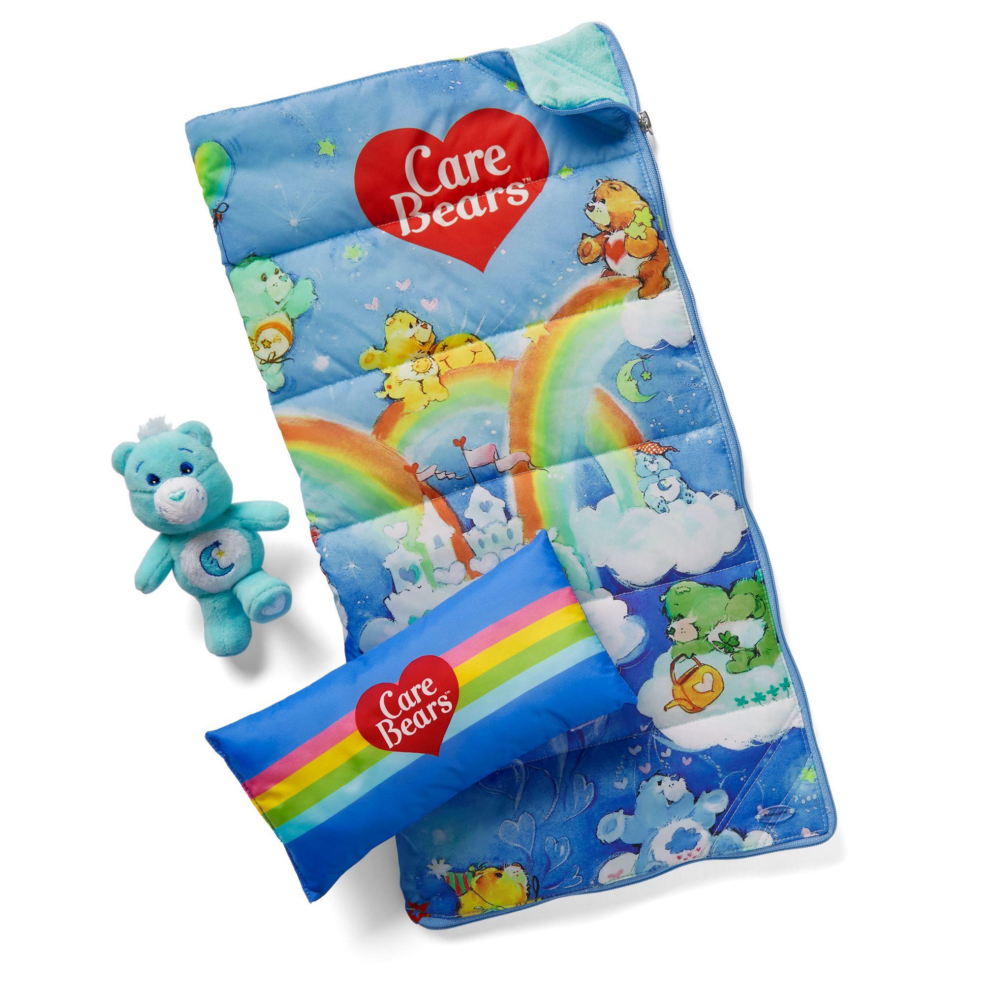 Courtney's Care Bears Sleeping Bag Set