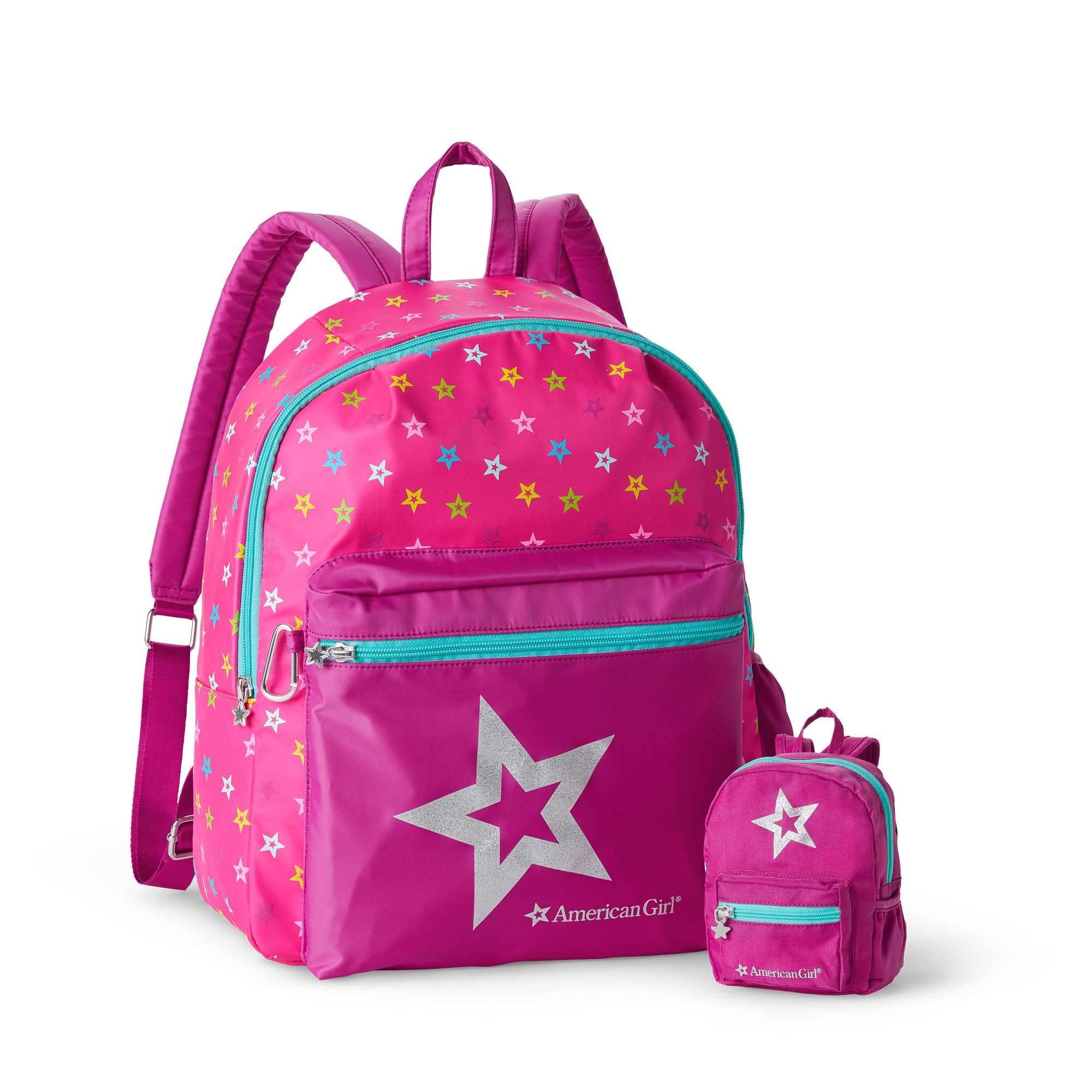 American Girl Backpack Set