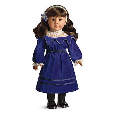 Samantha's Velvet Dress