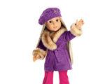 Julie's Winter Coat and Hat
