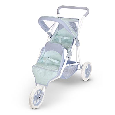 Bitty Twins Double Stroller