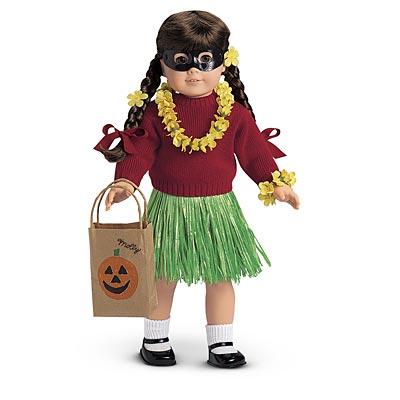Halloween Hula Costume