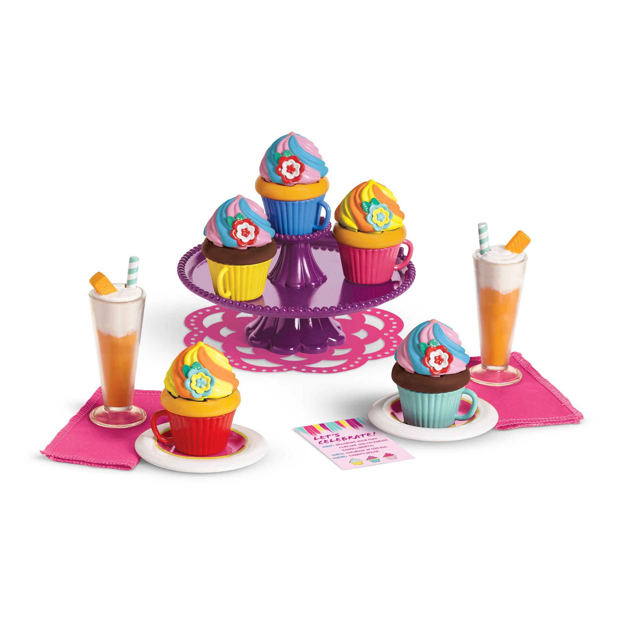 Gabriela's Colorful Cupcake Set