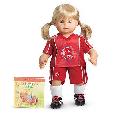 Red Soccer Outfit (Bitty Twins)