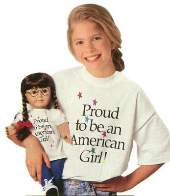 American Girl Tenth Anniversary Shirt