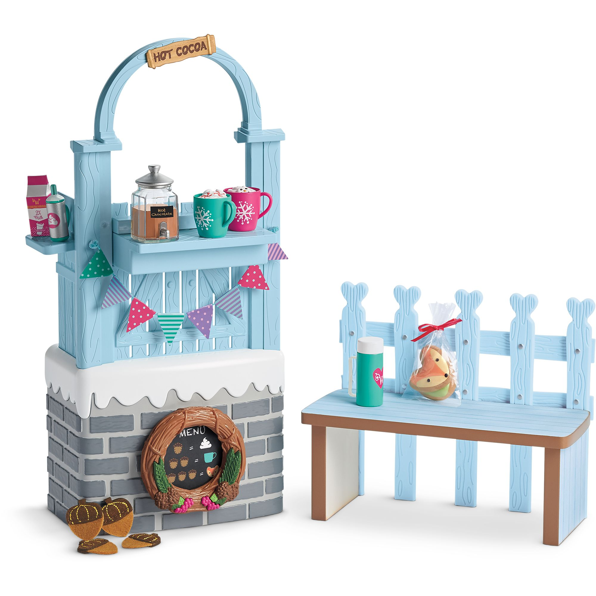 Cozy Up Cocoa Stand