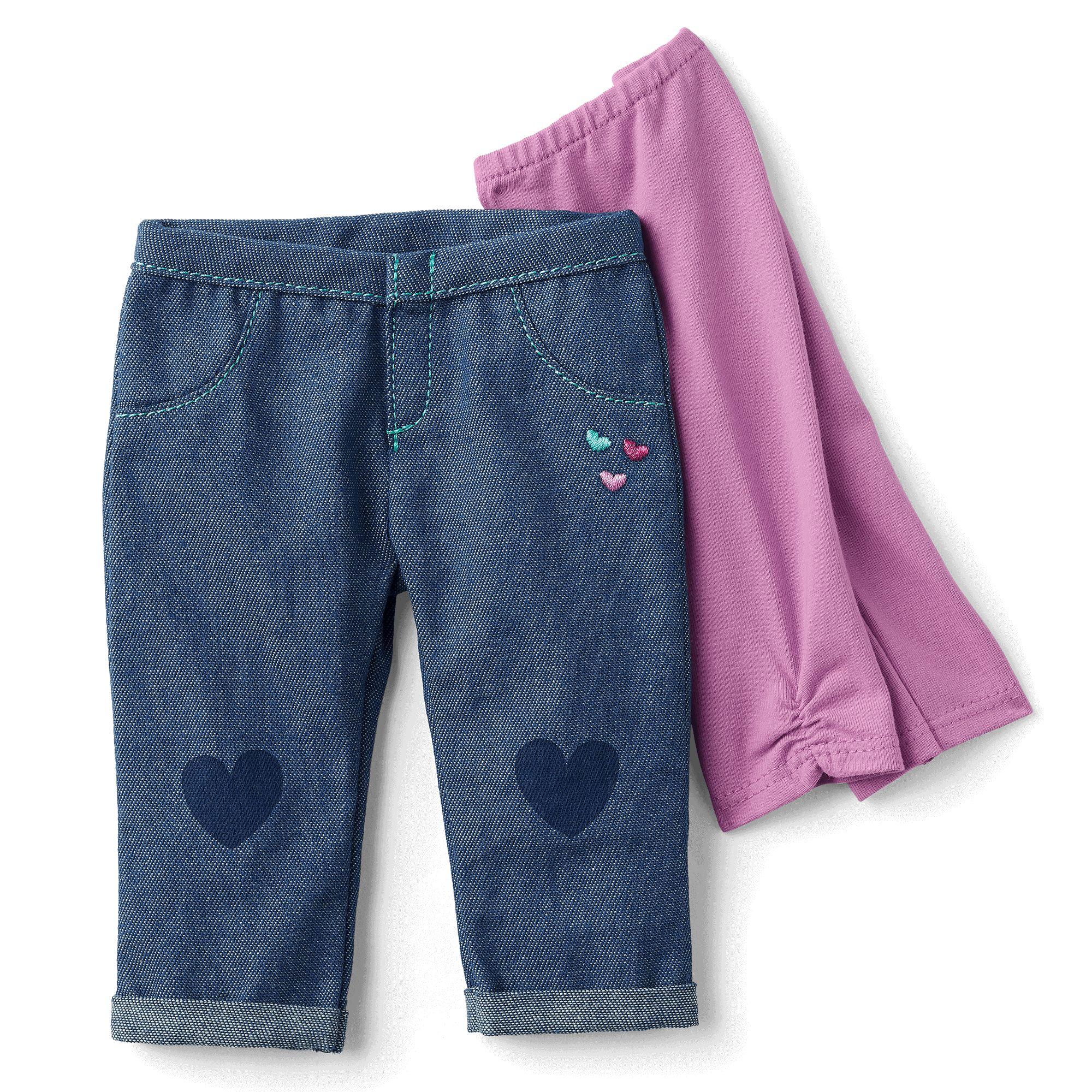 I Heart Jeans and Leggings Set