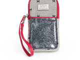 Dots and Bows Phone Wristlet