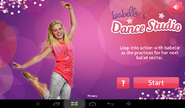 Dance Studio Android title screen