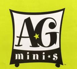 The American Girl Minis logo.