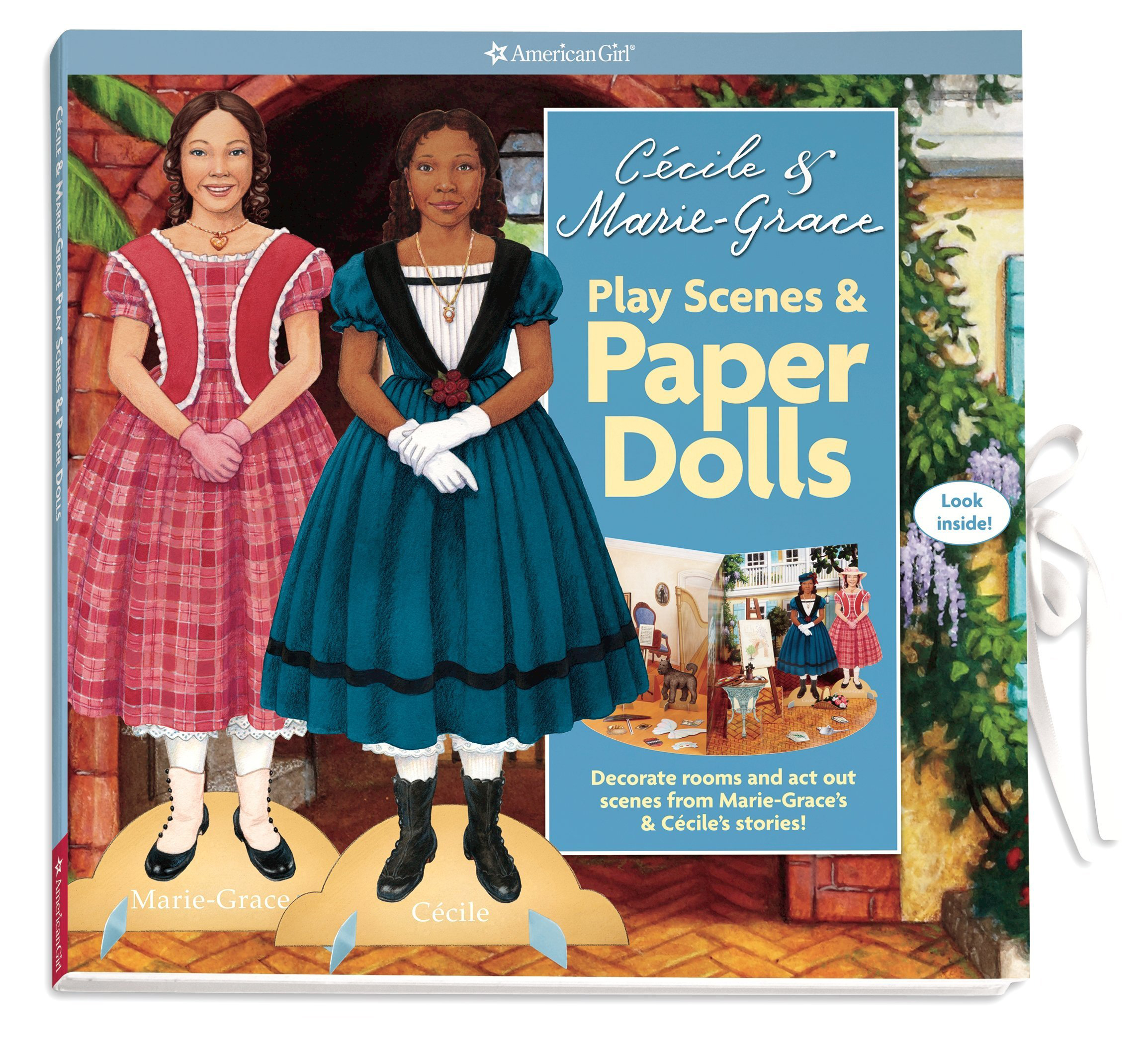 Cécile and Marie-Grace's Play Scenes and Paper Dolls