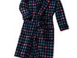 Plaid Robe and Sleep Socks