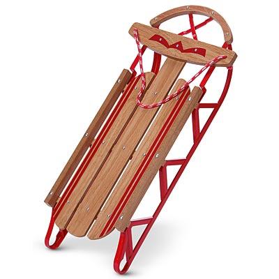 Emily's Wooden Sled