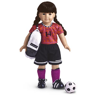 Purple Soccer Outfit