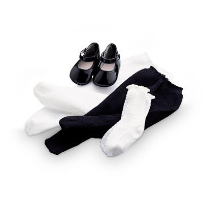 Samantha's Shoes and Socks