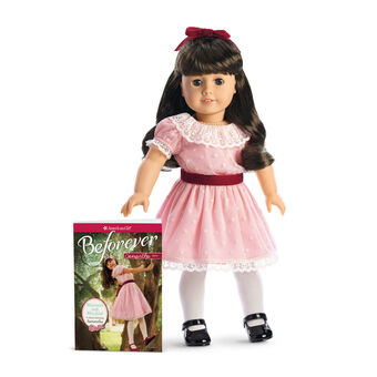 American Girl Truly Me Meet Outfit White Sparkle Shoes