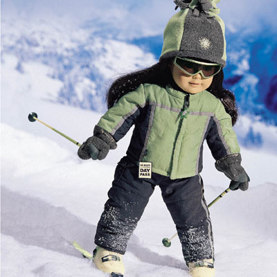 Downhill Ski Outfit