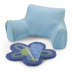 Journal Pillow and Rug