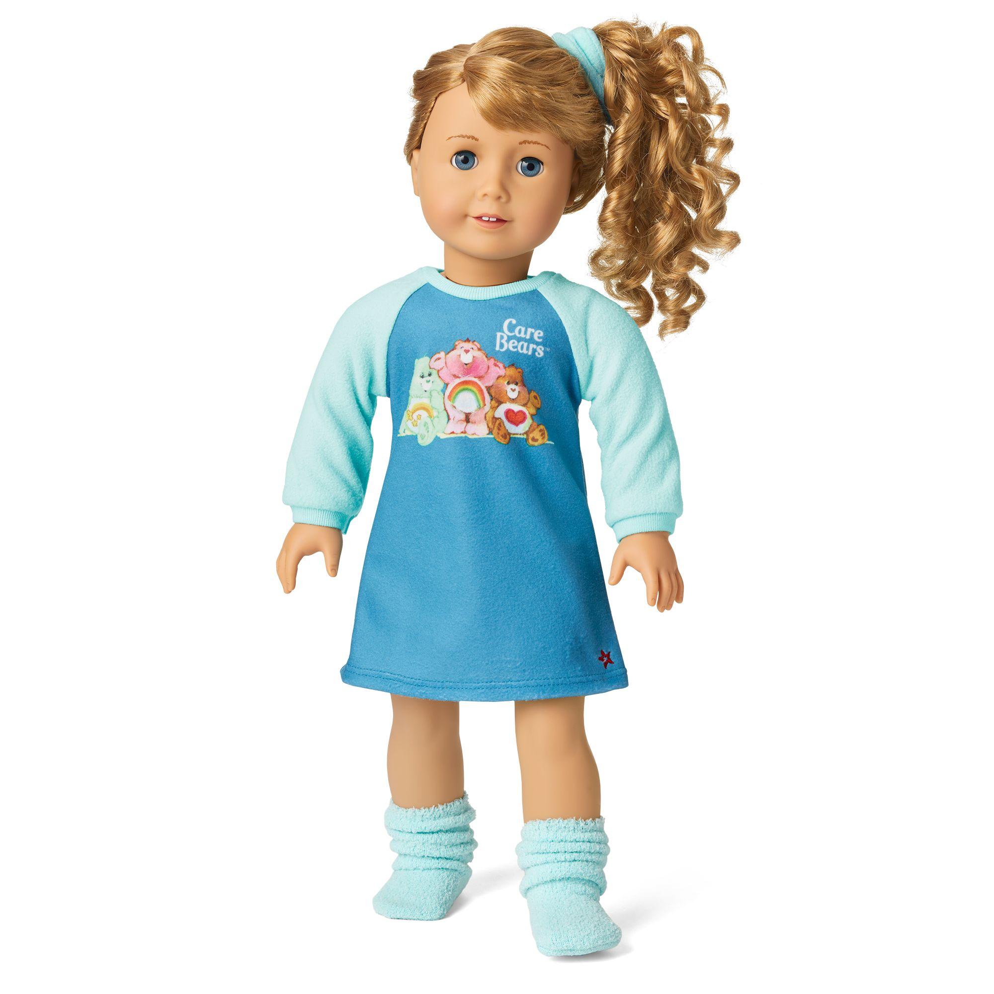 Courtney's Care Bear Pajamas