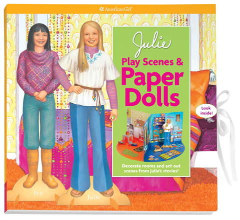 Julie's Play Scenes and Paper Dolls