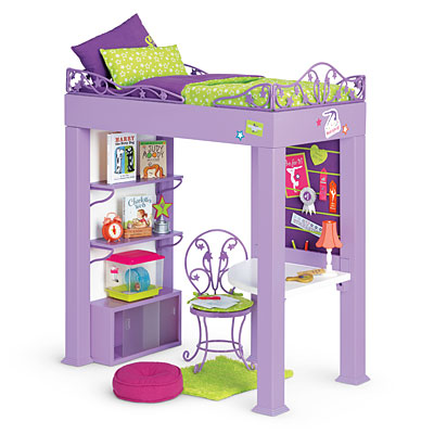 McKenna's Loft Bed Set