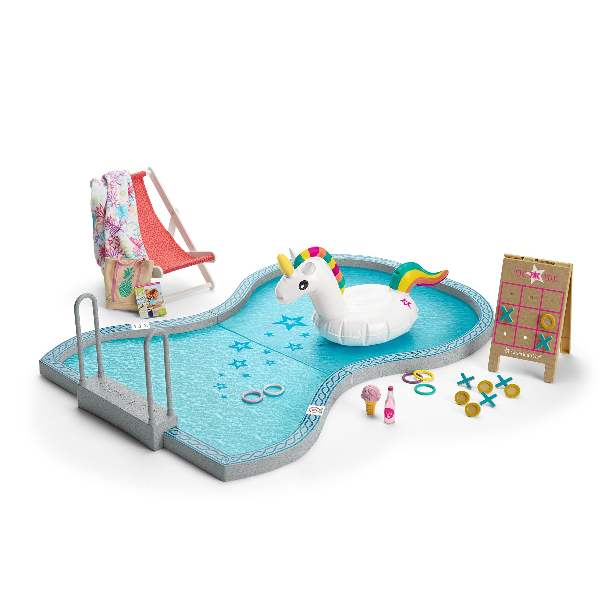 American Girl Swimming Pool