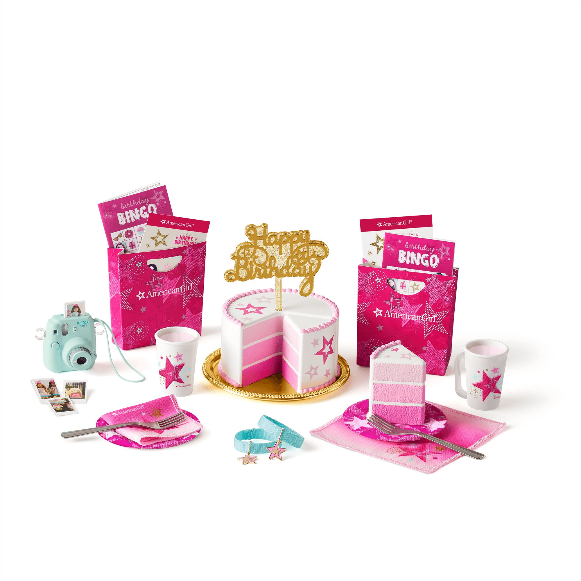 American Girl Birthday Party Set