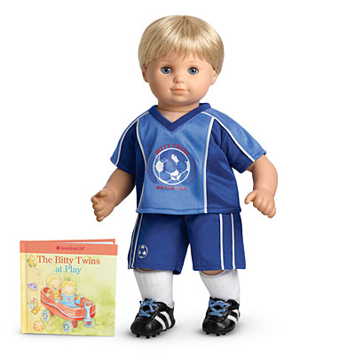 Blue Soccer Outfit (Bitty Twins)