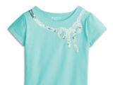 Grace Thomas's Sparkle Bow Tee for Girls