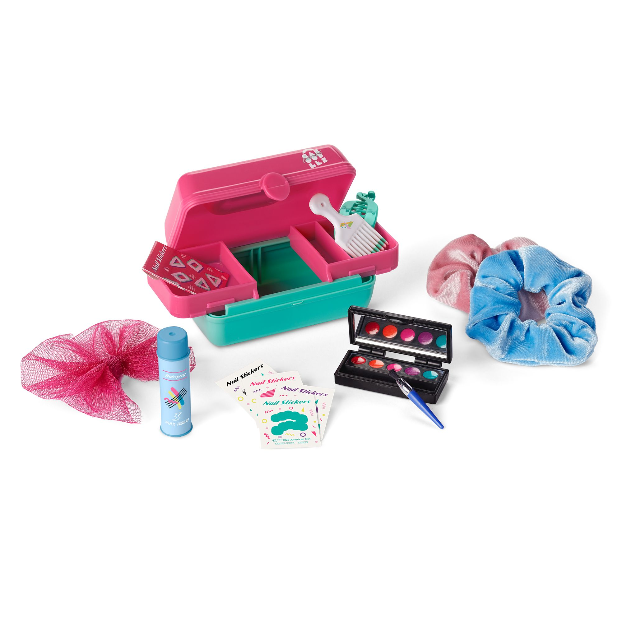 Courtney's Caboodles and Hair Accessories Kit