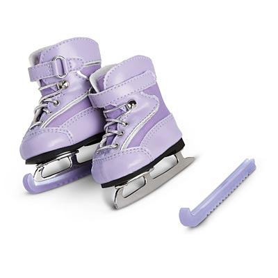 Mia's Purple Ice Skates