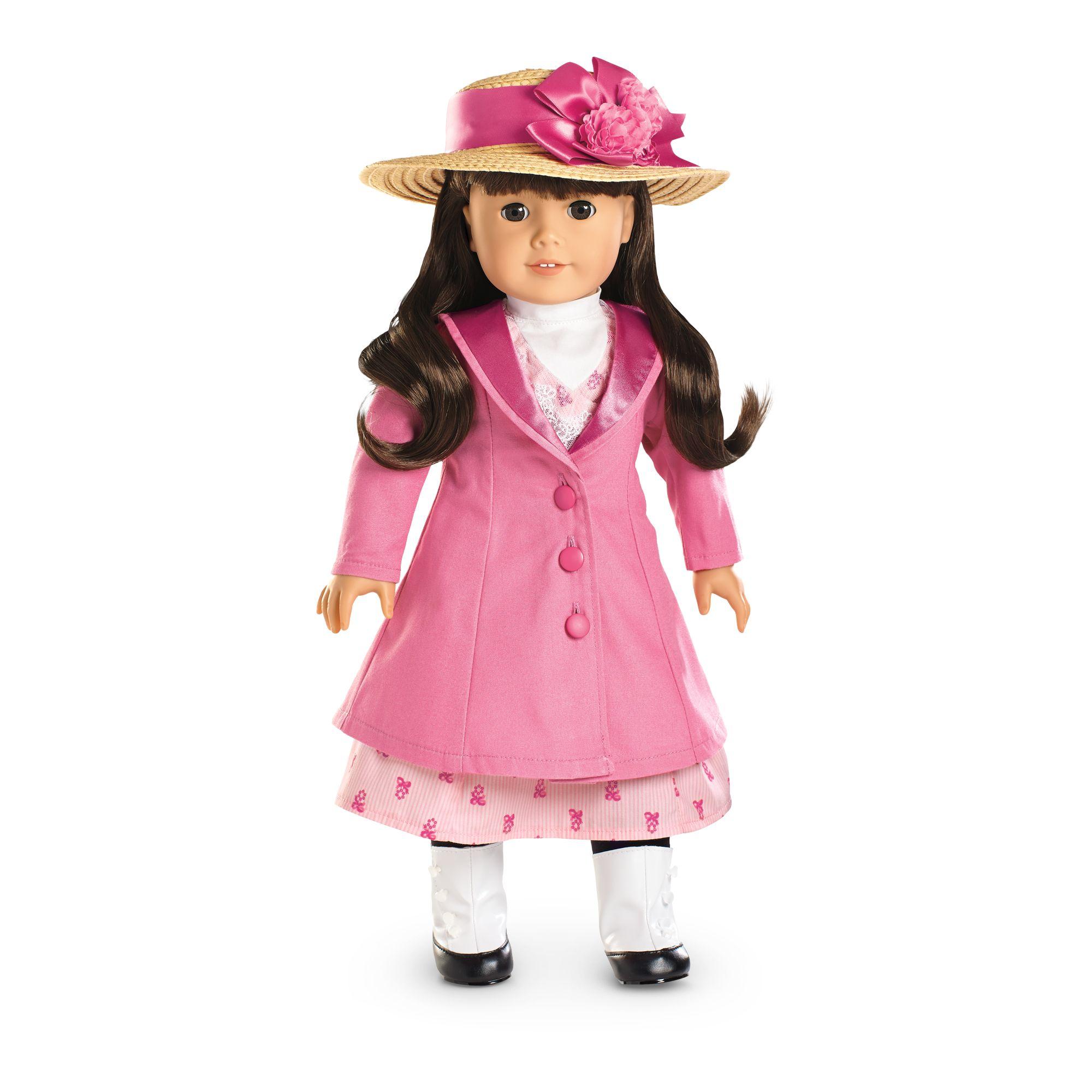 Samantha's Travel Coat and Hat