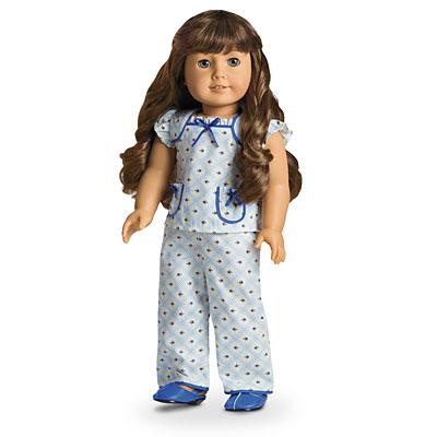 Molly's Floral Pajamas