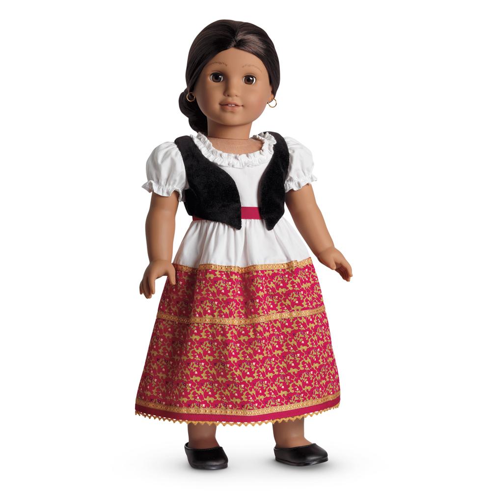 Josefina's Dress and Vest
