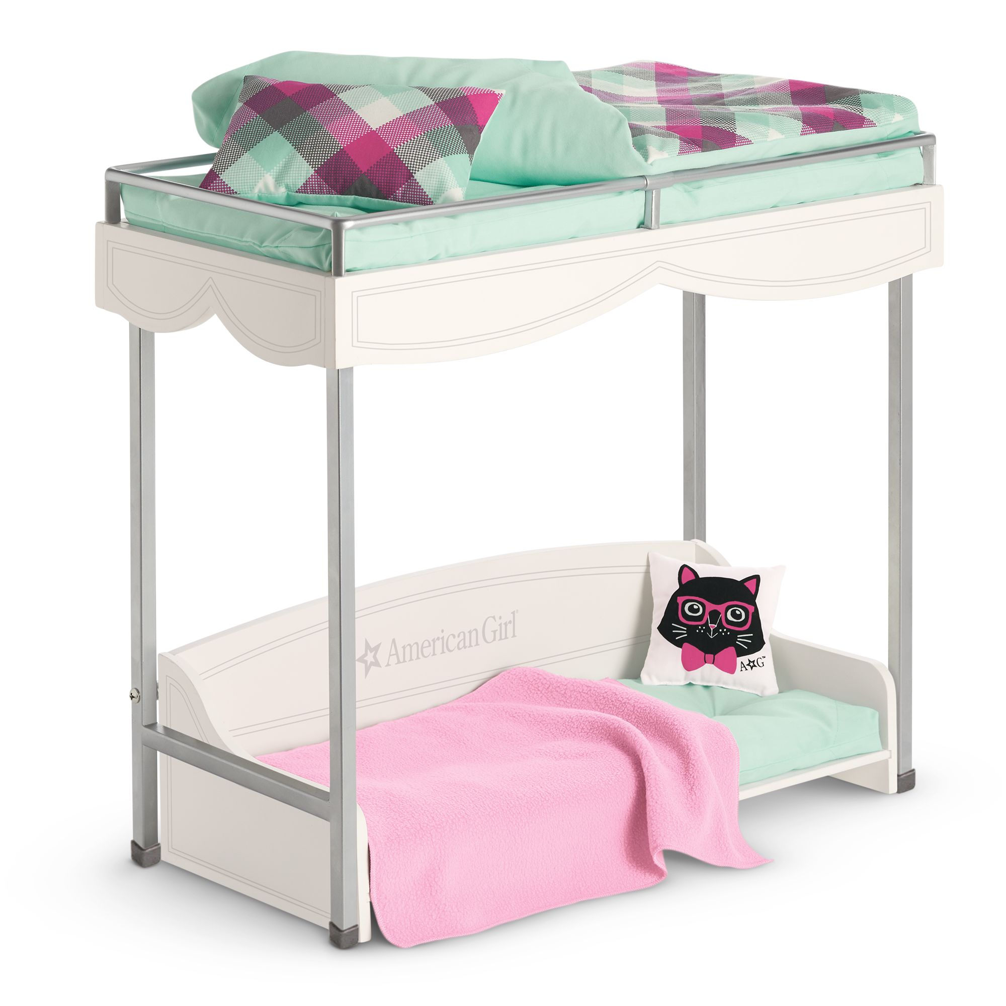 Bunk Bed and Bedding
