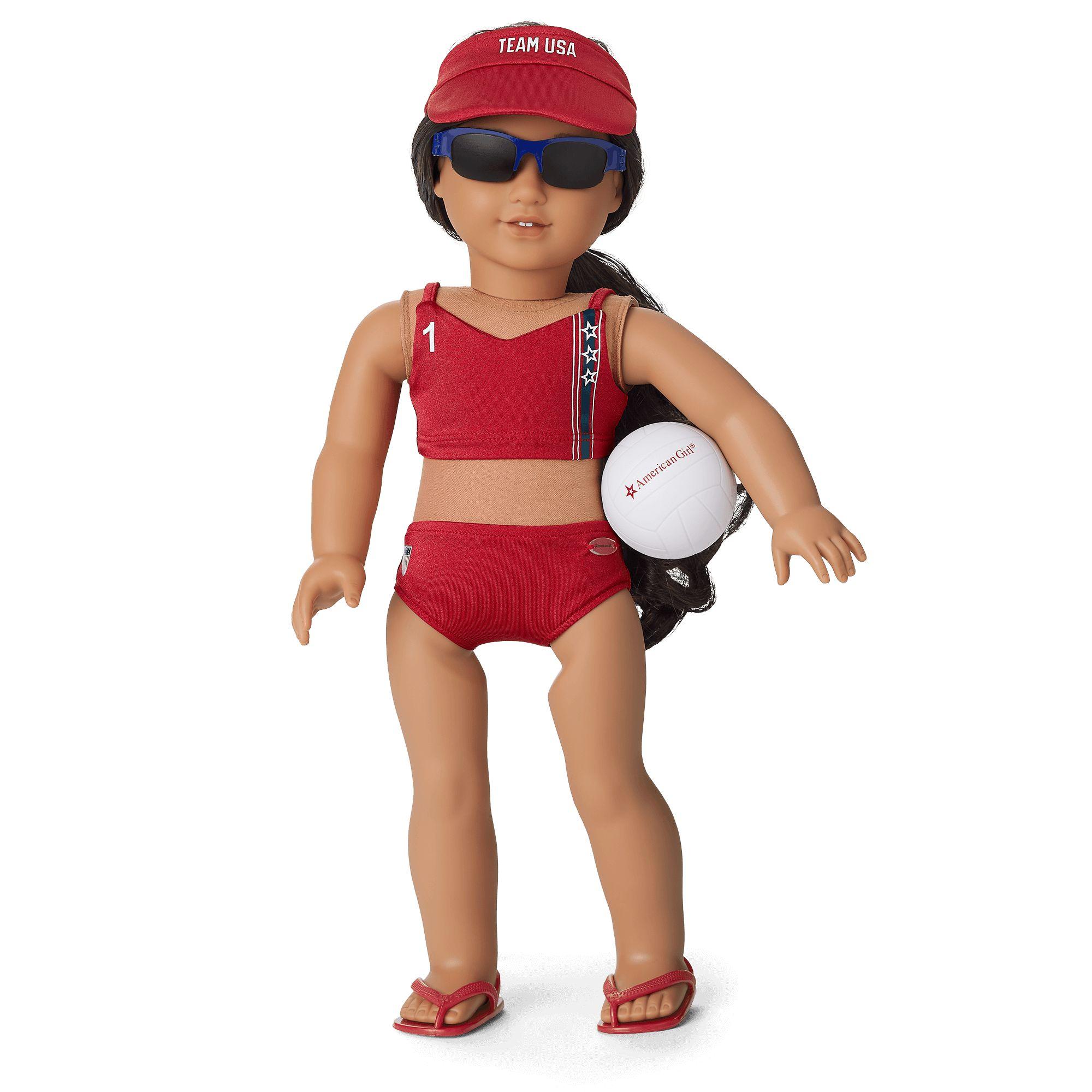 Team USA Beach Volleyball Set