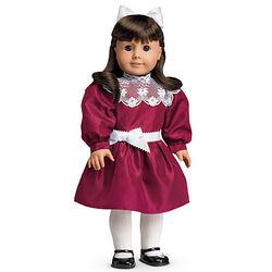 Cranberry Party Dress