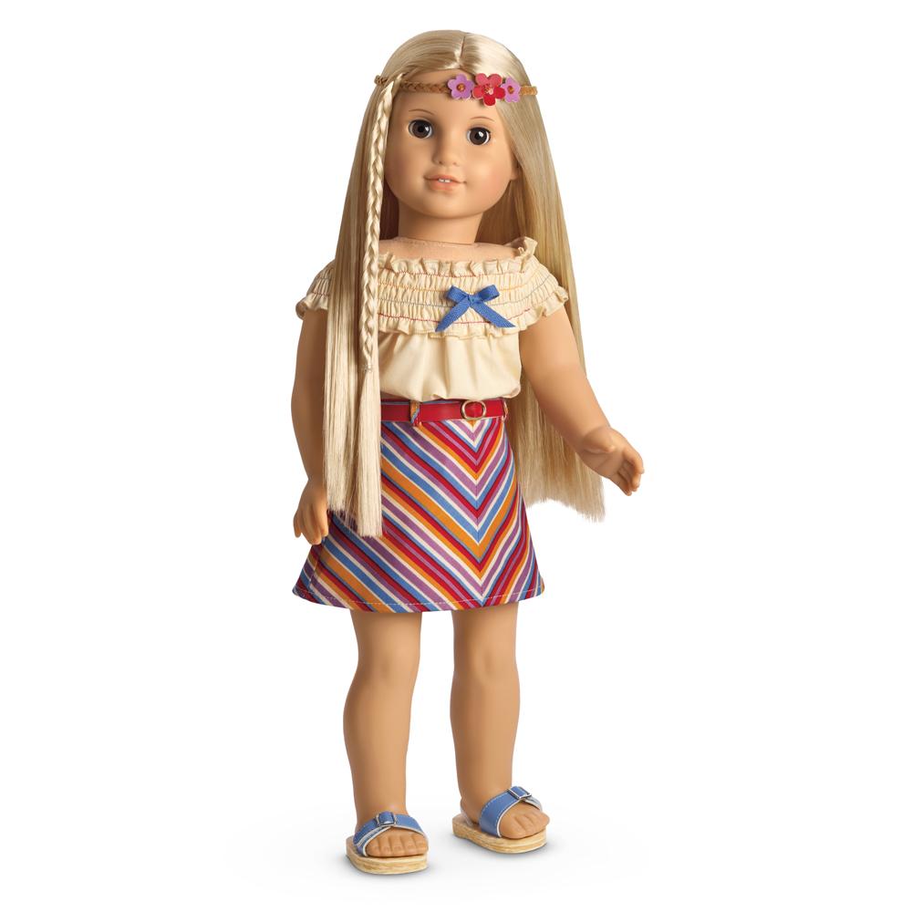 Julie's Summer Skirt Set