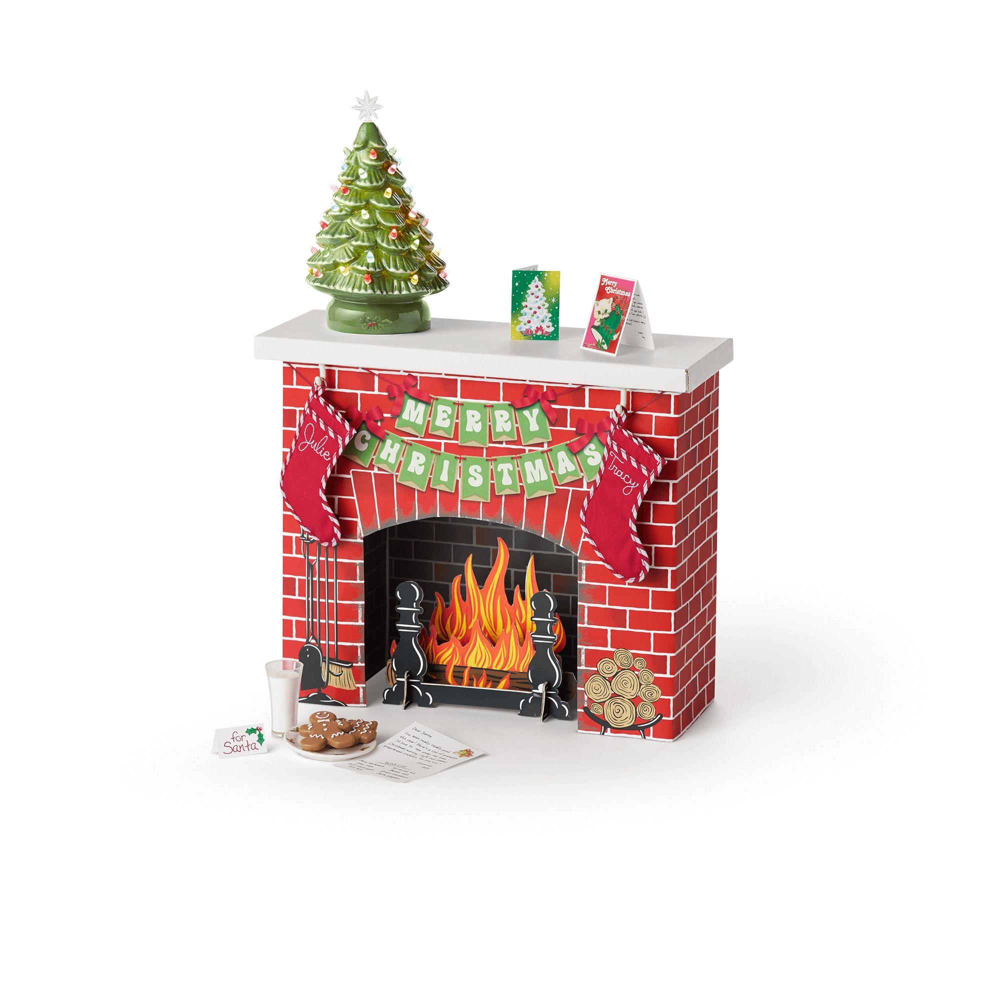 Julie's Christmas Fireplace