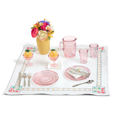 Glassware and Linens