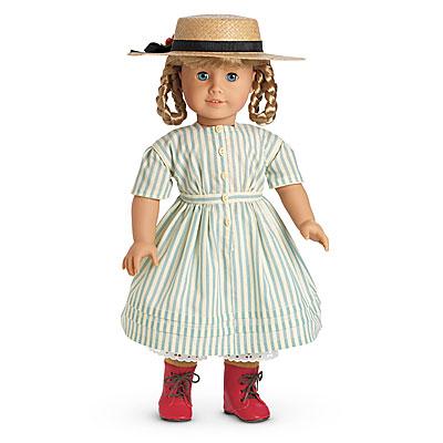 Kirsten's Summer Dress and Straw Hat