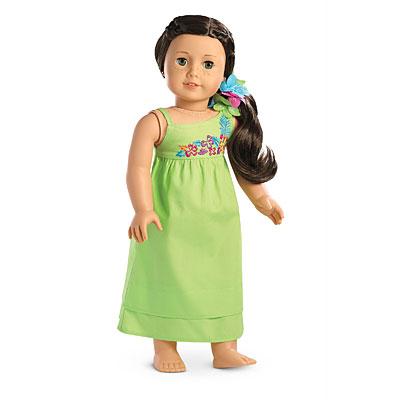 Beach Dress and Hair Accessory