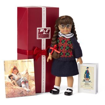 New American Girl Doll Round Silver Rimmed Molly Glasses Original Package