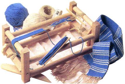 Kirsten's Weaving Loom