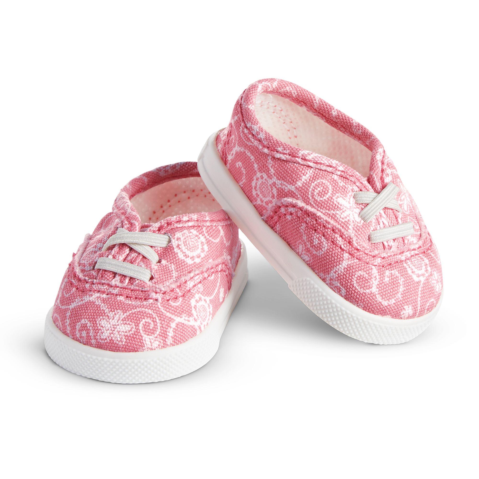 Lace-Print Shoes