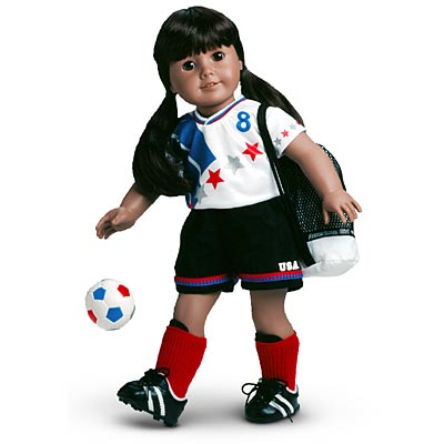 Go USA! Soccer Outfit